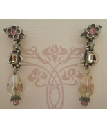 Earrings, Sweet Romance,  Darci Peridot, Post Back - $11.00