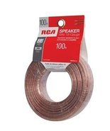 Audiovox 100 FT 18 GAUGE SPEAKER WIRE RCA-AH18100R [Electronics] - $7.99