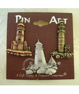 Pins, Set of 3 Tack Pin Lighthouses - $8.00