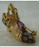 Pin, Just The Right Shoe by Raine, Aladdin, Sterling - $10.00