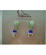 Earrings, Just the Right Shoe by Raine, Contempo, Sterling Post - $10.00