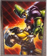X-Men Wolverine vs DragonBall Z Cell Glossy Pri... - $24.99