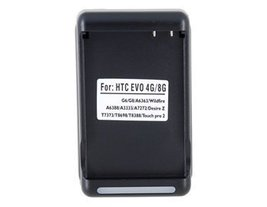 Universal Battery Charger with USB port for HTC EVO 4G / 8G (Black) - $6.99