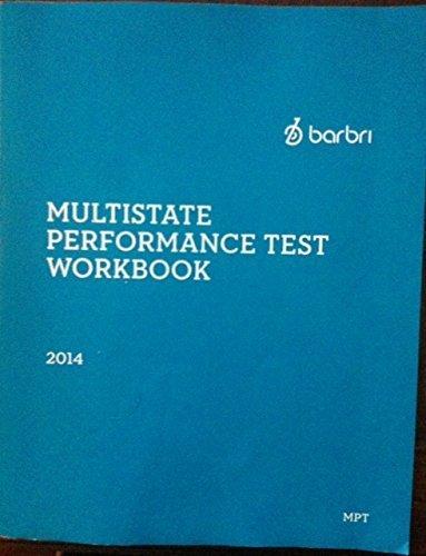 barbri multistate essay exam workbook