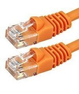 2FT 24AWG Cat5e 350MHz UTP Bare Copper Ethernet Network Cable - Orange - $1.99