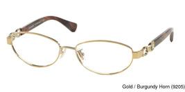 Coach Stacy HC5062 9205 Gold Eyeglass Frame 54mm - $95.00