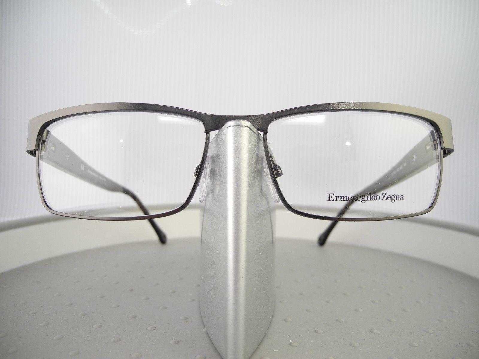 a1d5ae570bc C. C. Previous. New Authentic VZ3181 0627 Ermenegildo Zegna Gunmetal Eyeglass  Frame ...