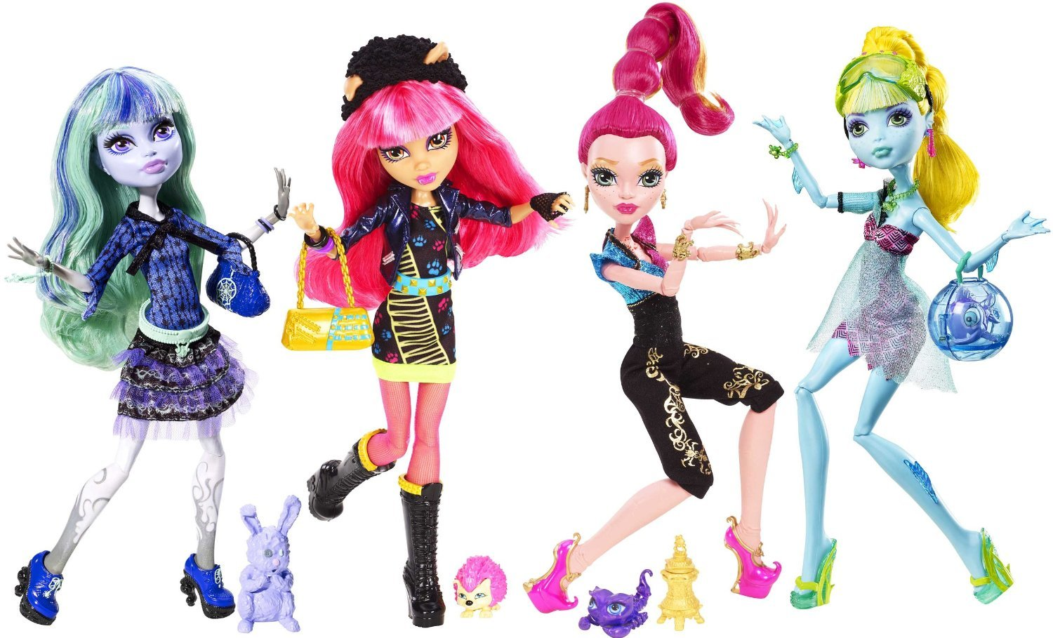 Monster High 13 Wishes Twyla Aqua Frosted and 27 similar items