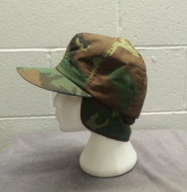 Retro Dorfman Pacific Hunting Hat - Featuring fold down ear flaps - Camouflage  image 9