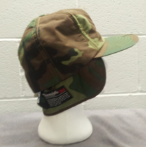 Retro Dorfman Pacific Hunting Hat - Featuring fold down ear flaps - Camouflage  image 10