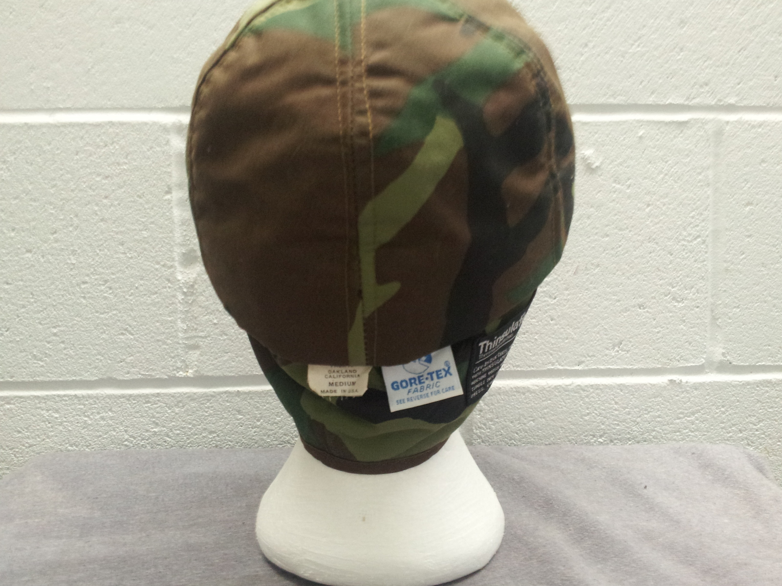 Retro Dorfman Pacific Hunting Hat - Featuring fold down ear flaps - Camouflage  image 11
