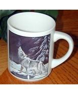 HOWLING WOLF by Cyndi Nelson 1988 Design MUG - $19.76