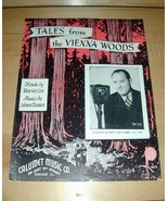 Tales from the Vienna Woods-Johann Strass 1939 Music - $19.76