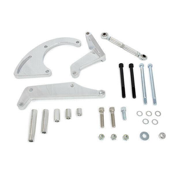Chevrolet Small Block Long Water Pump Compressor Bracket 262 283 305 327 350 400