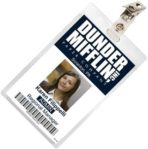 The Office KAREN FILIPPELLI Dunder Mifflin ID Badge Costume Name Tag TO-16 - $9.99