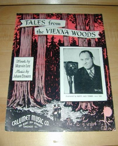 Tales from the Vienna Woods-Johann Strass 1939 Music