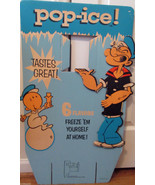 """Popeye """"POP-ICE"""" large store display sign-1960's-excellent condition - $115.00"""