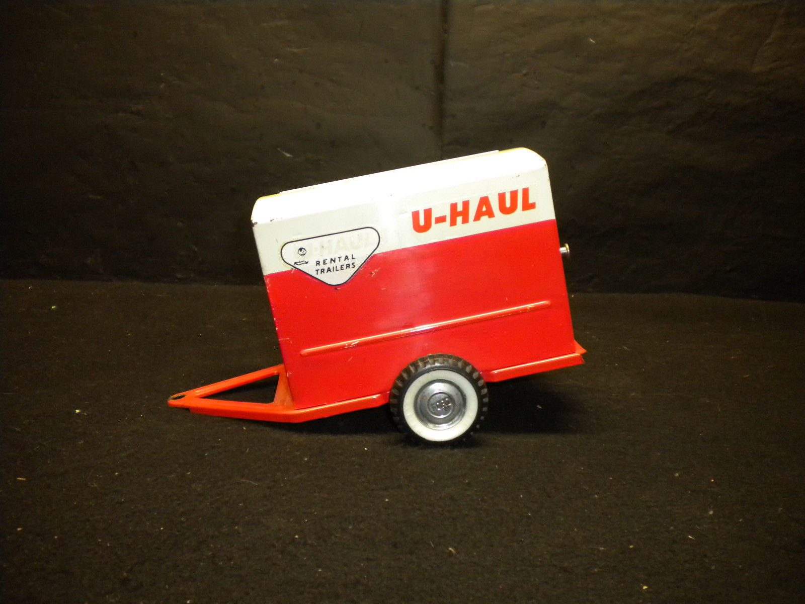 Vintage Nylint U-Haul Trailer Ford Hubcaps 1960`s