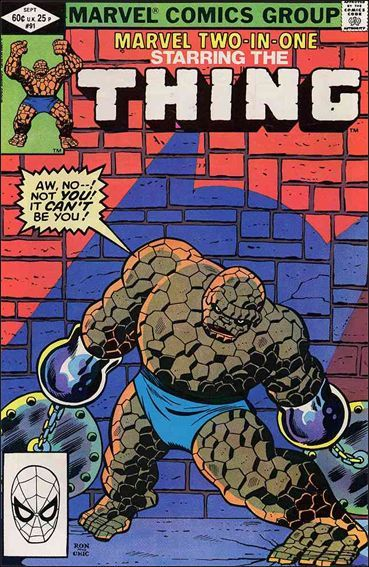 Marvel MARVEL TWO-IN-ONE (1974 Series) #91 VF