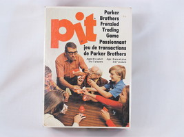 Pit 1973 Card Game Bell Parker Brothers 100% Complete Excellent Bilingua... - $32.18