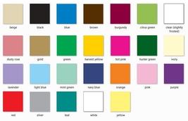 "1 Plain LAVENDER Plastic table skirt 13' x 29"" adjustable to 19' includes 6 clip image 2"