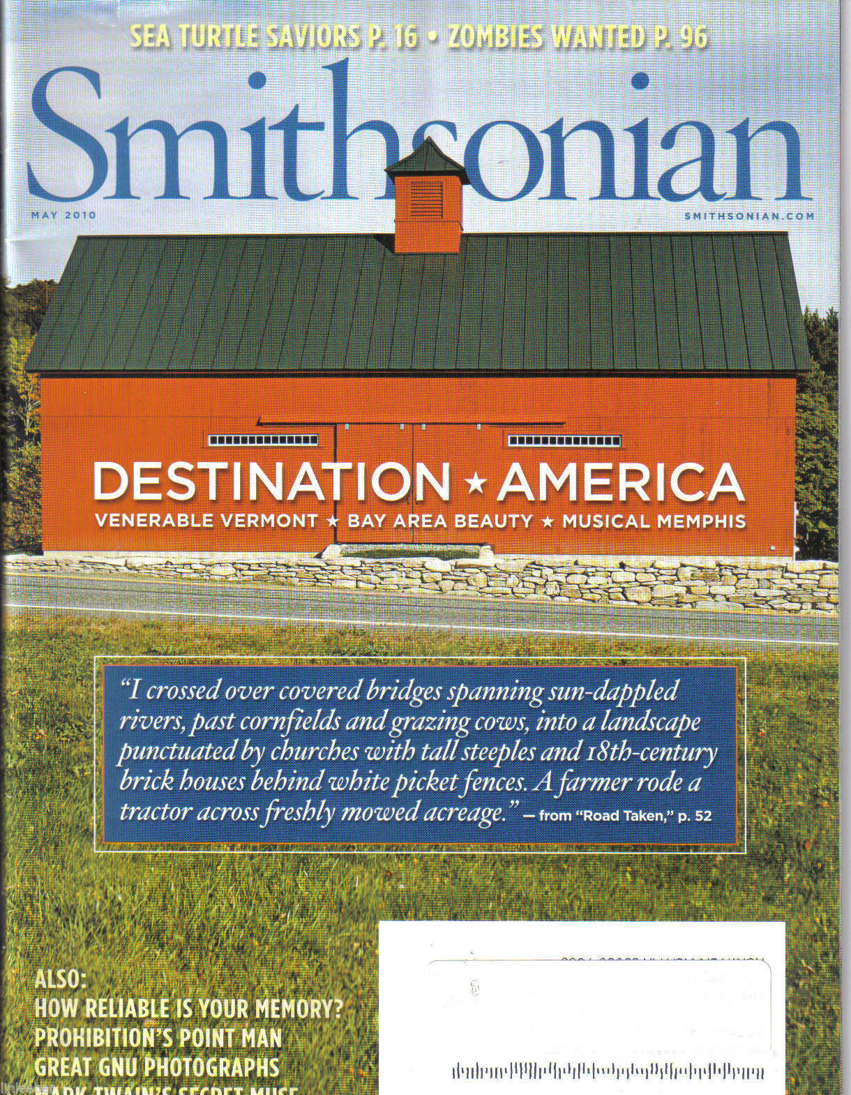 Smithsonian magazine archives