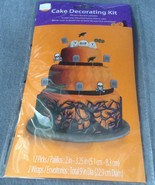 Halloween Graveyard Raven Haunted House Cake Decorating Kit 12 picks & 2... - $2.99