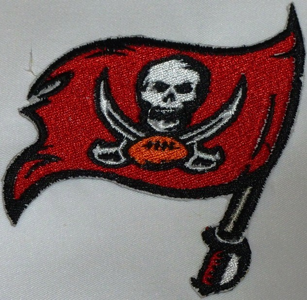 Primary image for Tampa Bay Buccaneers Logo  Iron On Patch