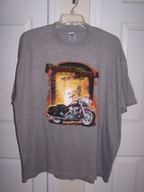 Men's GraphicT-Shirt Forged In Our Souls Motorcycle 2 XL Gray Cotton Sho... - $17.09 CAD