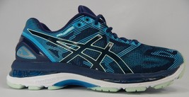 Asics Gel Nimbus 19 Sz: US 8 M (B) EU 39.5 Women's Running Shoes Blue Aqua T750N