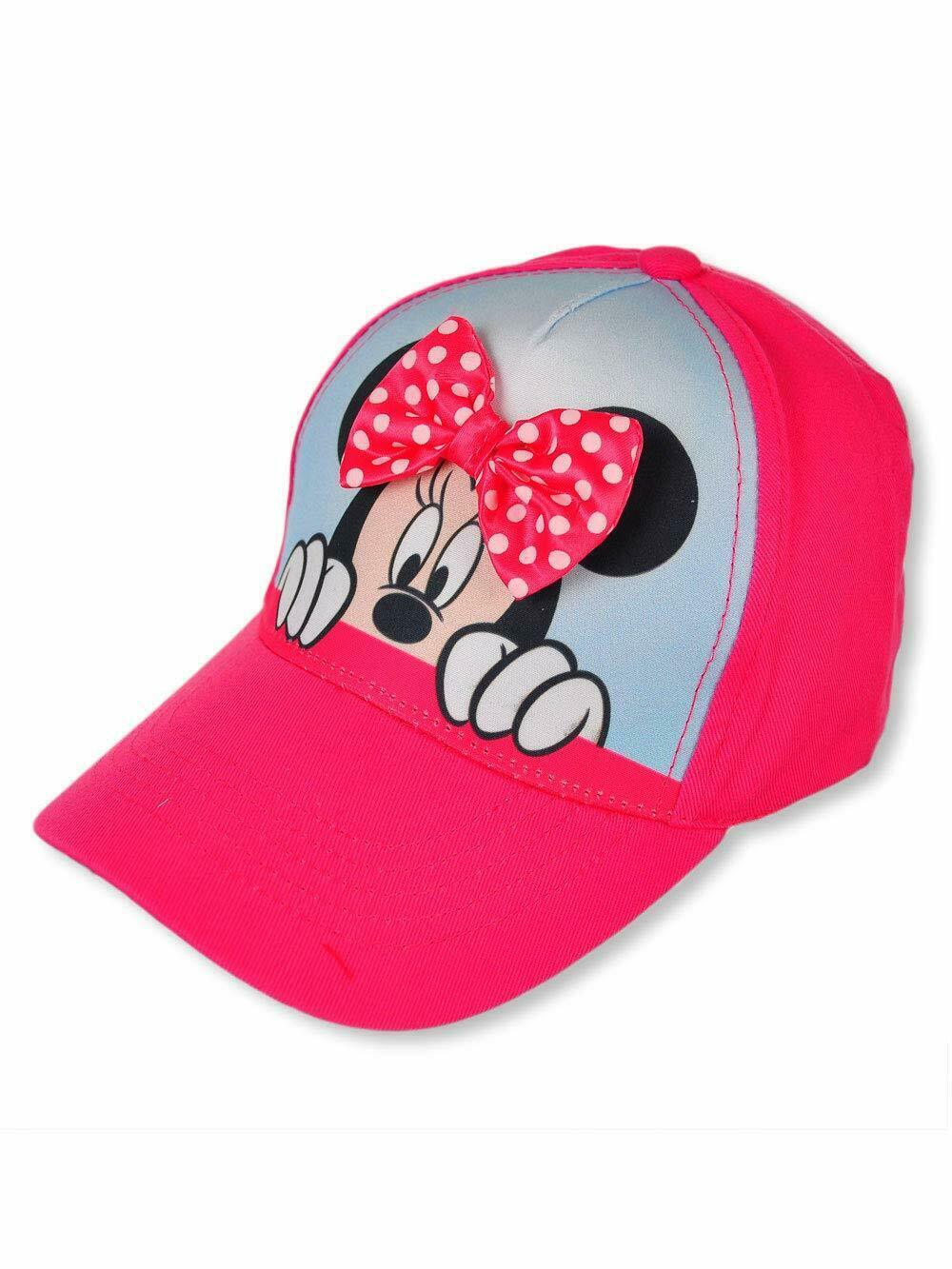 Disney Minnie Mouse Baseball Cap - Pink one Size - $12.22