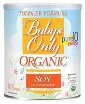 Baby's Only Organic Toddler Formula, OG2, Soy, Kosher 12.7 Ounce Pack of 6 - $76.82