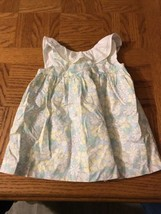 BABY GIRLS 0-3 MONTH JANIE AND JACK BOUTIQUE FLORAL DRESS - $15.72