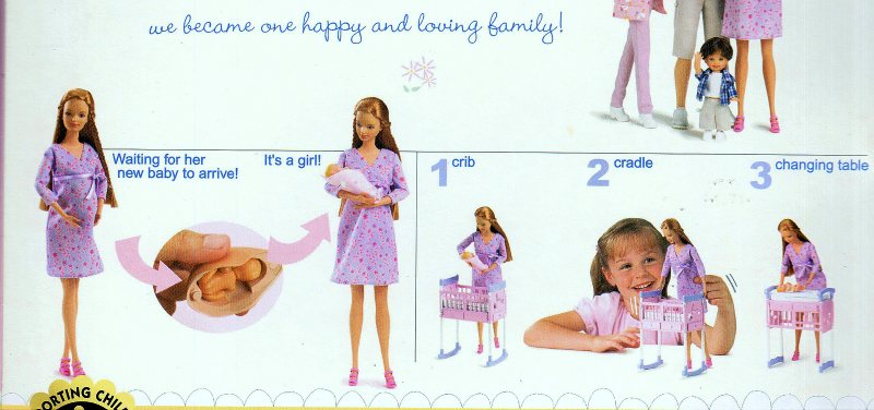 Midge and Baby - Happy Family -Barbie By Matell