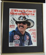 1988 STOCK CAR MOTORSPORTS MAGAZINE RICHARD PETTY ON COVER AUTOGRAPHED &... - $175.00