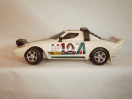 HONGDA 1979-1980 RALLYE MONTE-CARLO 10 LANCIA ALITALIA BUMP-N-GO RACE CAR - $40.00