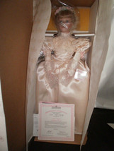 ASHTON DRAKE LISA'S 1990'S WEDDING DRESS BRIDE DOLL #96514 NIB W/CERT AN... - $75.00