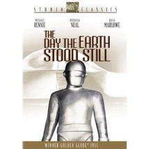 THE DAY THE EARTH STOOD STILL  20th Century FOX DVD sealed 1951 sci-fi - $7.99