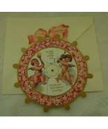 Valentine, B. Shackman, Reproduction Victorian 2-Way Picture, Die Cut - $6.00
