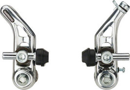SHIMANO ALTUS CT91 FRONT CANTILEVER SILVER BICYCLE BRAKE WITH LINK WIRE - $14.45