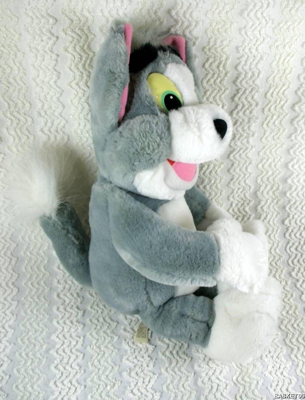 Mattel Arco 1993 Tom & Jerry Cat Plush TOM Doll Toy 16