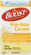 Boost Very High Calorie Nutrition Beverages, Very Vanilla, 8 Ounce, 27 C... - $66.66