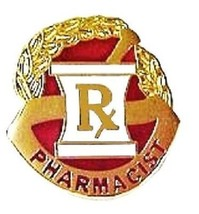 Pharmacist Pharmacy Mortar Pestle RX Professional Medical Lapel Pin 117 New - $16.46