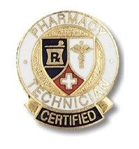 Pharmacy Technician Certified Lapel Pin Professional Medical Emblem Grad... - $13.69