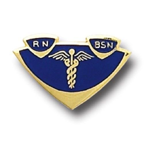 Primary image for RN BSN Lapel Pin Insignia Emblem Registered Nurse Graduation Pinning 5003 New