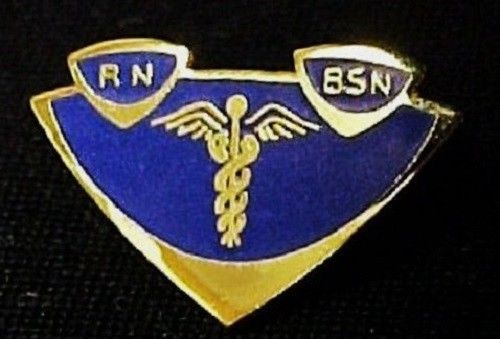 RN BSN Lapel Pin Insignia Emblem Registered Nurse Graduation Pinning 5003 New image 2