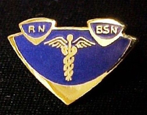 RN BSN Lapel Pin Insignia Emblem Registered Nurse Graduation Pinning 5003 New image 5