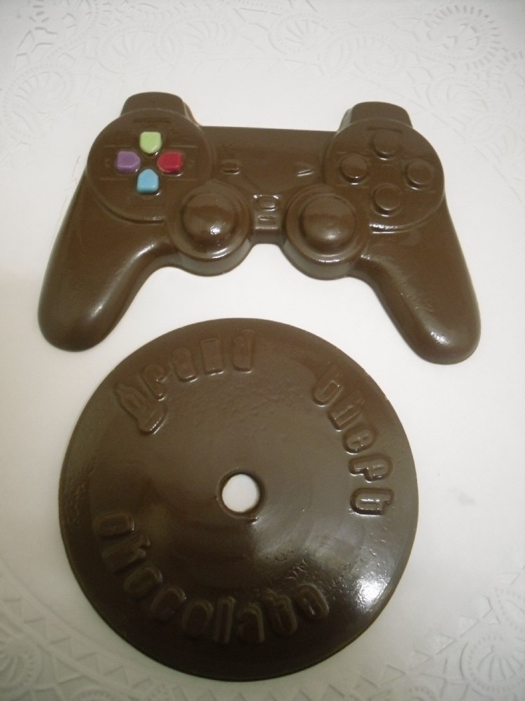 Chocolate Game CD and game controller