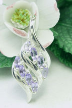 Sterling Tanzanite Marquise Pendant - $65.00