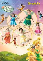 Simplicity Pattern #2559 Disney Fairies Halloween Costumes
